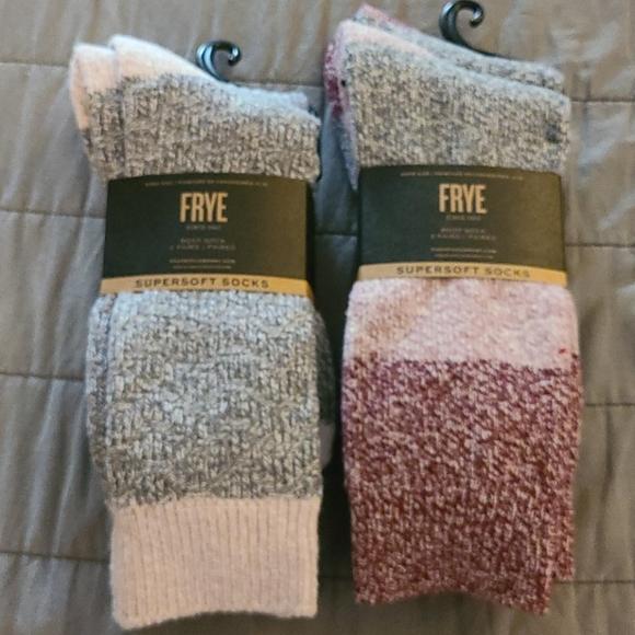 Frye SuperSoft Boot Socks 2 packs